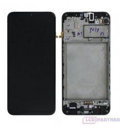 Samsung Galaxy A21s SM-A217F LCD + dotyková obrazovka + black přední kryt - originál
