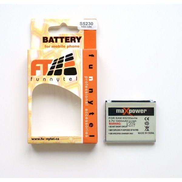 Baterie Samsung S5230-1000mAh neuvedeno