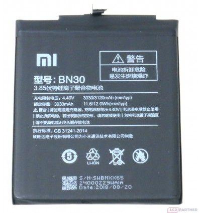 Xiaomi Redmi 4a baterie BN30 neuvedeno